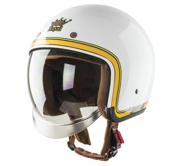 nón royal m139 chỉ vàng trắng